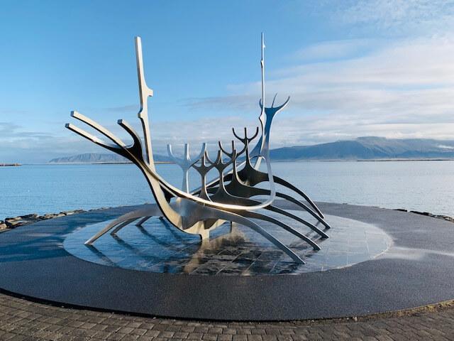 Reykjavik – Die Skulptur Sun Voyager